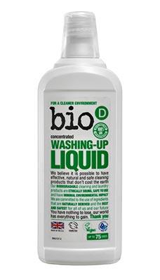 Bio-D Fragrance Free Washing Up Liquid 750ml