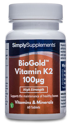 BioGold Vitamin K Tablets 100mcg