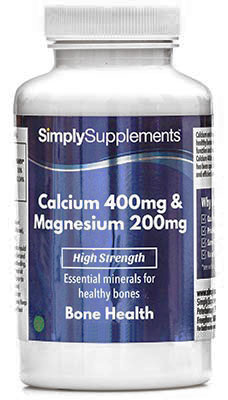 Calcium 400mg & Magnesium 200mg Tablets