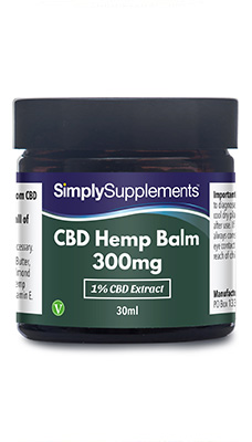 CBD Balm with 1% CBD extract