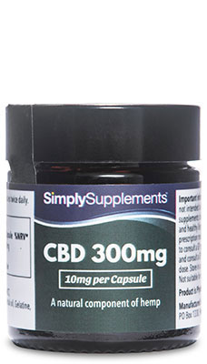CBD Capsules 300mg (10mg per serving)