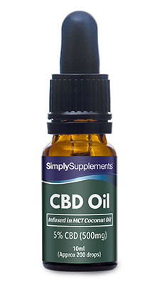 CBD Coconut Oil 500mg (5% Strength)
