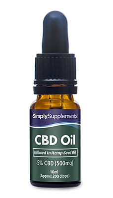 CBD Hemp Oil 500mg (5% Strength)