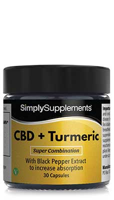 CBD & Turmeric with Black Pepper