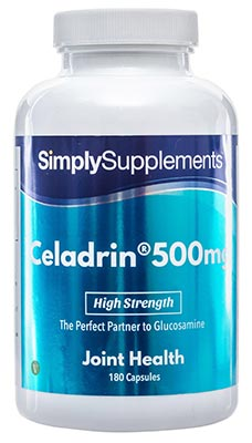 60 Capsule Tub - celadrin tablets
