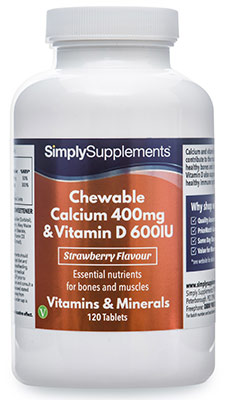Chewable Calcium & Vitamin D3 Tablets