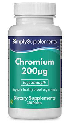 Chromium Tablets 200mcg