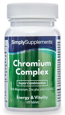 120 Tablet Tub - chromium complex