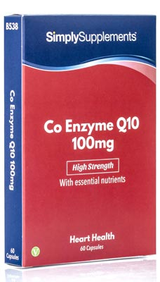 Co Enzyme Q10 Capsules 100mg - B538