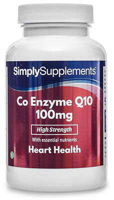 Co-Enzyme Q10 Capsules 100mg - E538