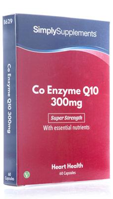 Coenzyme Q10 Capsules 300mg - B629