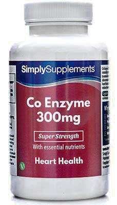 Coenzyme Q10 Capsules 300mg - E485