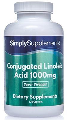 Conjugated Linoleic Acid Cla 1000mg (120 Capsules)