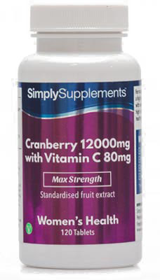 Cranberry Tablets 12000mg - E463