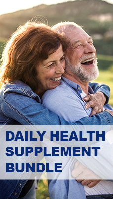 Daily Health Bundle - Multivitamin, Glucosamine and Pure Omega 3