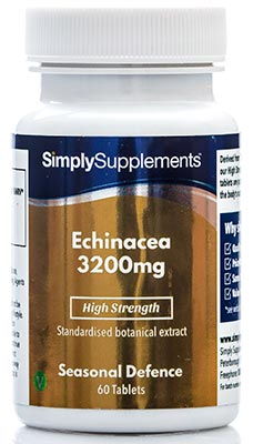 Echinacea Tablets 3200mg - S548