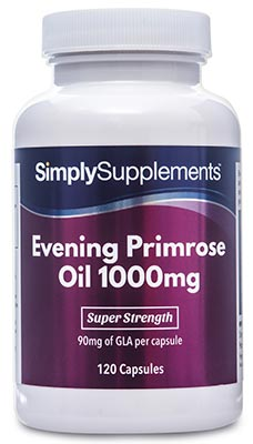 Evening Primrose Oil Capsules 1000mg - B280