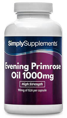 Evening Primrose Oil 1000mg (360 Capsules)