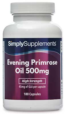 Evening Primrose Oil Capsules 500mg - S151