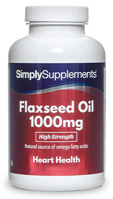 Flaxseed Oil Capsules 1,000mg
