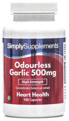Odourless Garlic Capsules - S602
