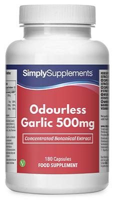 Odourless Garlic Capsules - S602