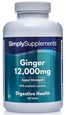 Ginger Tablets 12000mg - E457