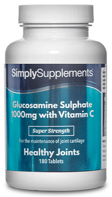 Glucosamine 1,000mg with Vitamin C Tablets