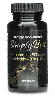 Glucosamine 500mg and Chondroitin 400mg (90%) - SimplyBest
