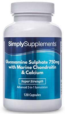 Glucosamine 750mg, Chondroitin & Calcium