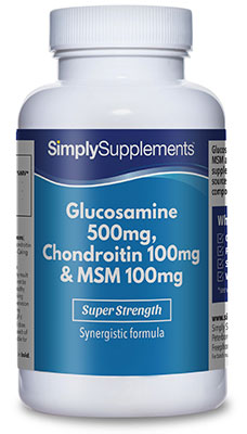 120 Tablet Tub - glucosamine chondroitin msm