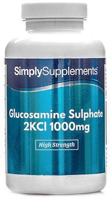 Glucosamine Sulphate 1000mg Capsules - S804