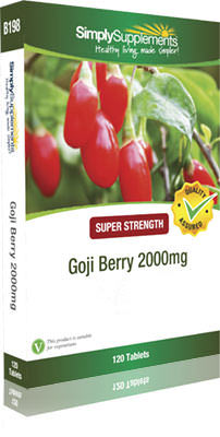 Goji Berry Extract Tablets - B198