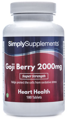 180 Tablet Tub - goji berry extract tablets