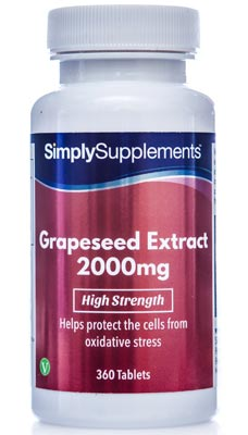 360 Tablet Tub - grape seed extract