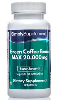 Green Coffee Bean MAX Capsules 20000mg - E560