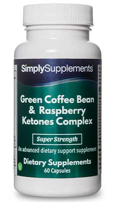 60 Capsule Blister Pack - Green Coffee and Raspberry Ketone Complex