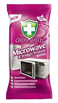 Greenshield Microwave and Fridge/Freezer Wipes