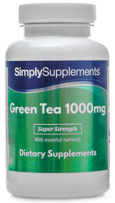 Green Tea Extract Capsules - E514