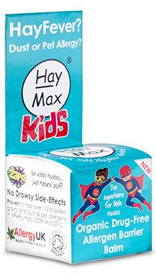 HayMax Kids Organic Allergen Barrier Balm