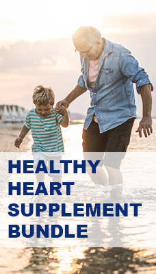 Healthy Heart Bundle - HeartAce, 100% Multivitamins and Omega 3 with vitamin E and D3