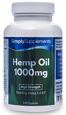 Hemp Oil Capsules 1000mg