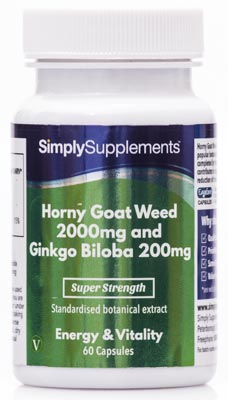 Horny Goat Weed Capsules - E628