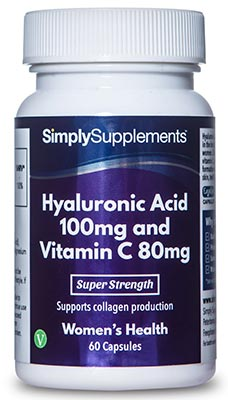 Hyaluronic Acid 100mg with Vitamin C 80mg