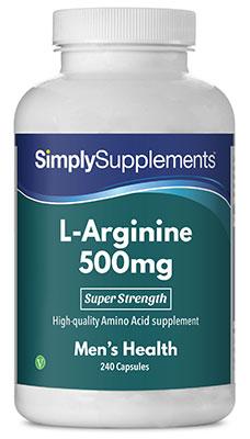 L-Arginine Capsules 500mg - E465