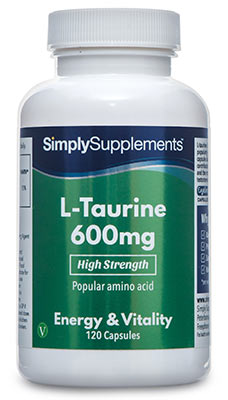 L-Taurine 600mg