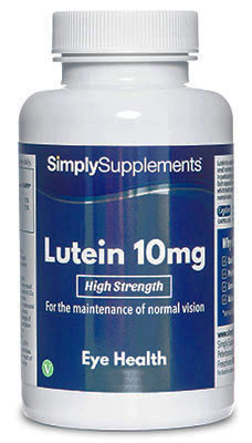120 Capsule Tub - lutein 10mg
