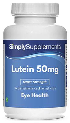 60 Capsule Tub - lutein 50 mg