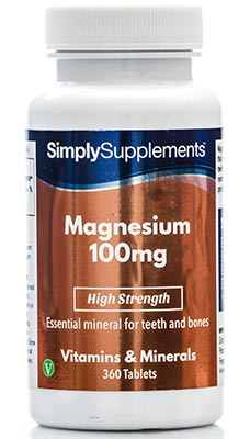360 Tablet Tub - magnesium tablets 100mg