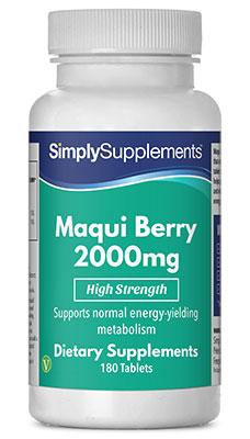 Maqui Berry Tablets 2000mg - E500